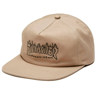Thrasher Witch sapka Tan