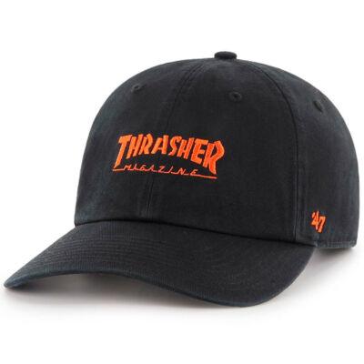 Thrasher X 47 Brand Clean Up sapka Black