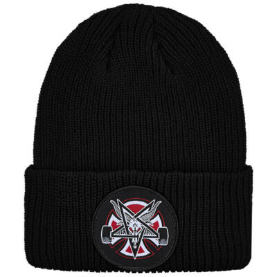 Thrasher X Independent Pentagram Cross sapka Black