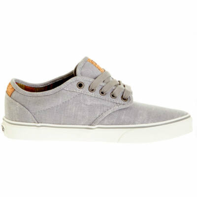 Vans Atwood Deluxe (Washed Twill) cipő Grey/Marshmallow