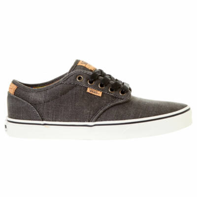 Vans Atwood Deluxe (Washed Twill) cipő Black/Marshmallow