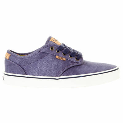 Vans Atwood Deluxe (Washed Twill) cipő Navy/Marshmallow