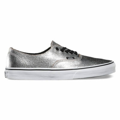 Vans Authentic Decon (Metallic) Silver/Black