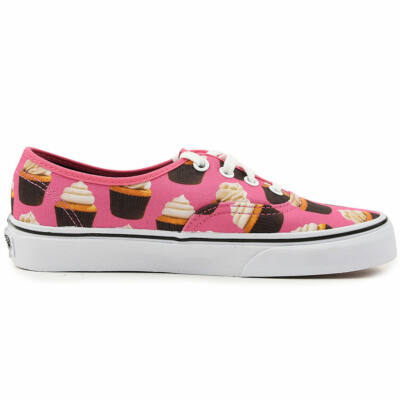 Vans Authentic (Late Night) Hot Pink/Cupcakes