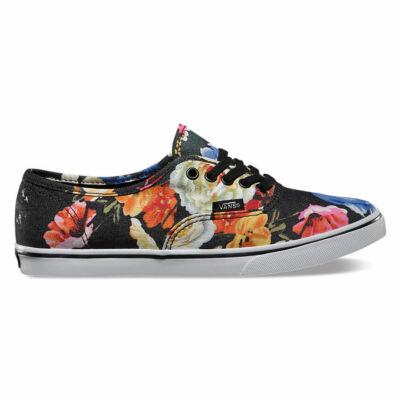 Vans Authentic Lo Pro (Floral) cipő Black/True White