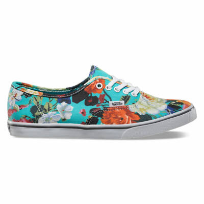 Vans Authentic Lo Pro (Floral) Smoked Prl/True White