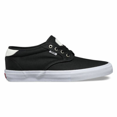 Vans Chima Estate Pro (Waxed Canvas) cipő Black/White