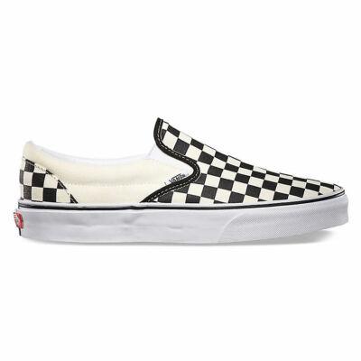 Vans Classic Slip-On cipő Black White Chckerboard/White