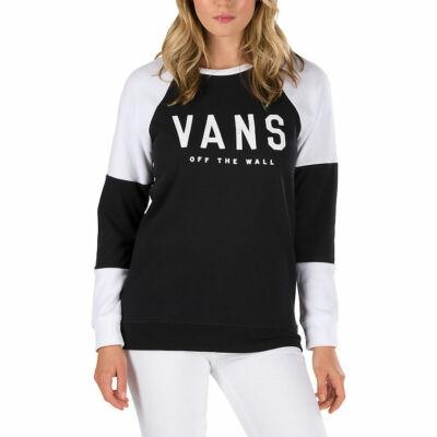 Vans Fortune Crew pulóver Black-White