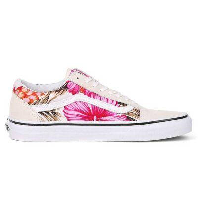 Vans Old Skool (Hawaiian Floral) cipő White