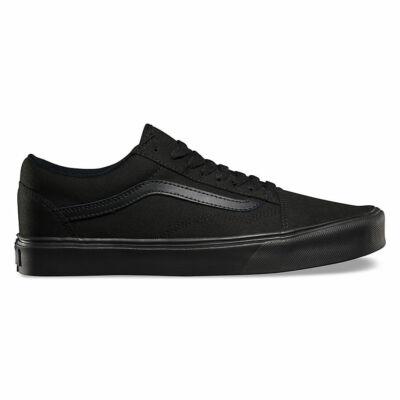 Vans Old Skool Lite (Canvas) cipő Black/Black