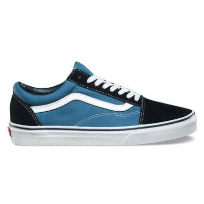 Vans Old Skool Lite + (Suede/Canvas) cipő Navy/White