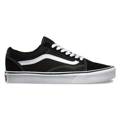 Vans Old Skool Lite (Suede/Canvas) cipő Black/White