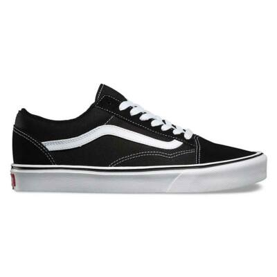 Vans Old Skool Lite (Suede/Canvas) cipő Black/White