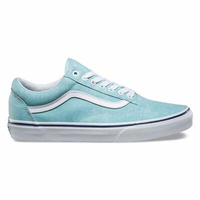 Vans Old Skool (Washed Canvas) cipő Blue Radiance/Crown Blue