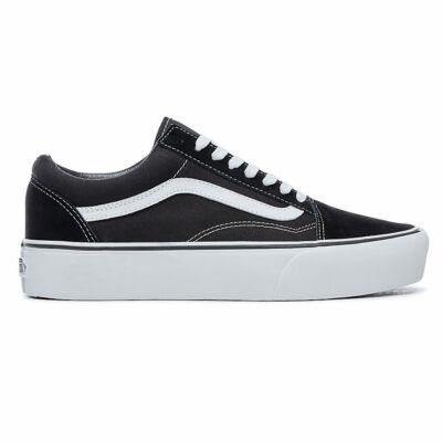 Vans Old Skool Platform cipő Black/White