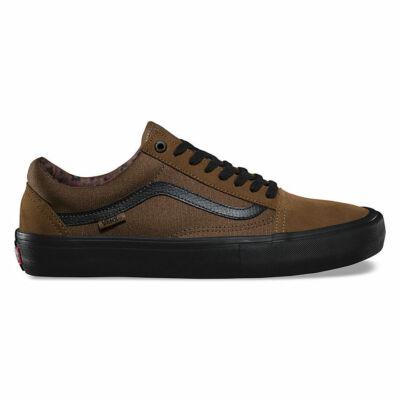 Vans Old Skool Pro (Dakota Roche) cipő Teak/Black