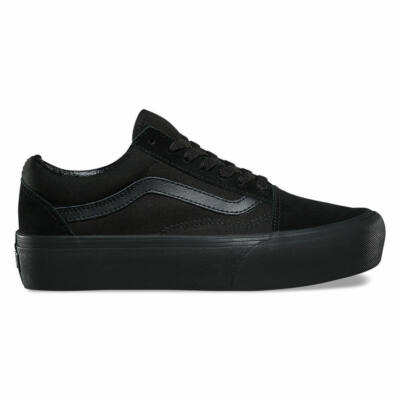 Vans Old Skool Platform cipő Black/Black