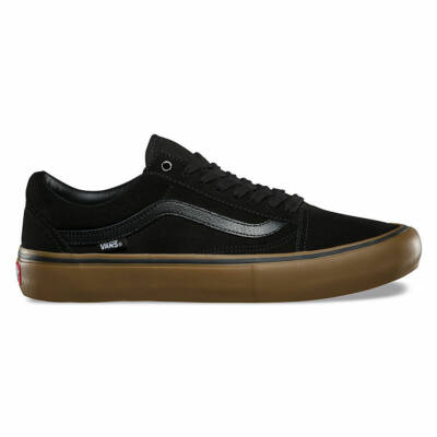 Vans Old Skool Pro Black - Gum