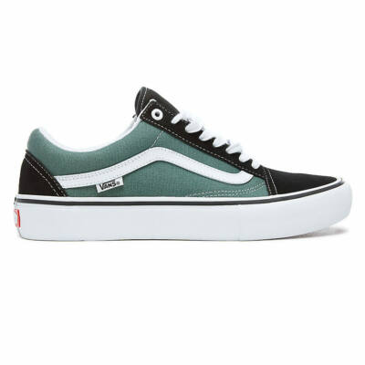 Vans Old Skool Pro cipő Black/Duck Green