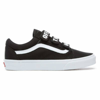 Vans Old Skool V Off The Wall cipő Black/True White