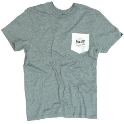 Vans Print Box Pocket póló Grey