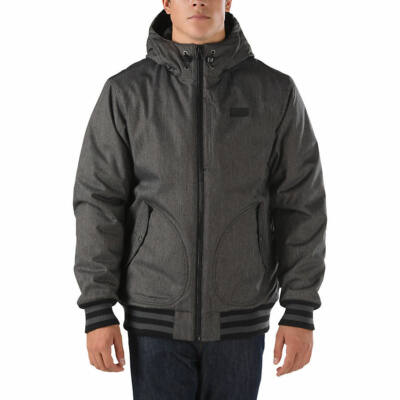 Vans Rutherford II kabát Black-Black