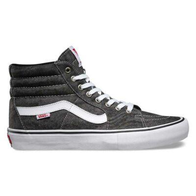 Vans Sk8-Hi Pro (Distortion) cipő Black/White