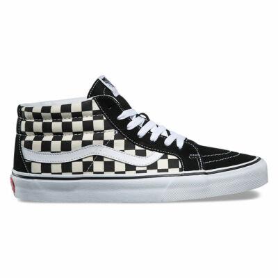Vans Sk8-Mid Reissue cipő Checkerboard/True White