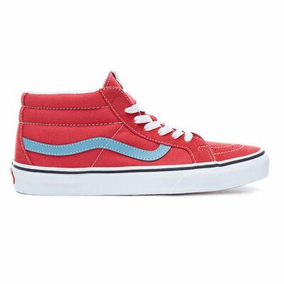 Vans Sk8-Mid Reissue cipő Rococco Red/Adriatic Blue