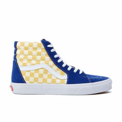 Vans Sk8-Hi Bmx Checkerboard cipő True Blue & Yellow