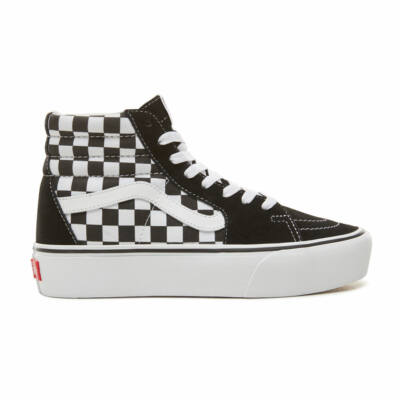 Vans Sk8-Hi Platform 2 cipő Checkerboard True White