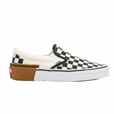 Vans Slip-On cipő Gum Block Checkerboard