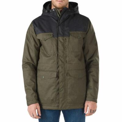 Vans Woodmoor kabát Grape Leaf-Black
