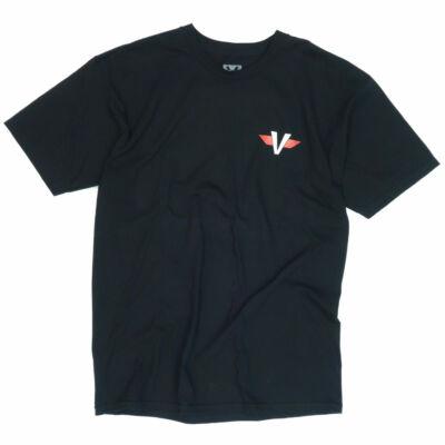 Venture V Wings póló Black