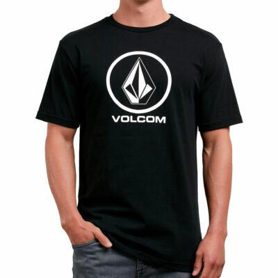 Volcom Crisp Stone póló Black