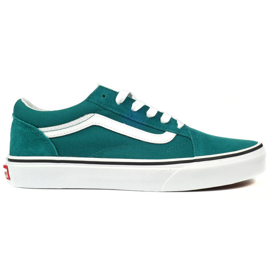 Vans Old Skool gyerek cipő Quetzal Green True White a86377ce38