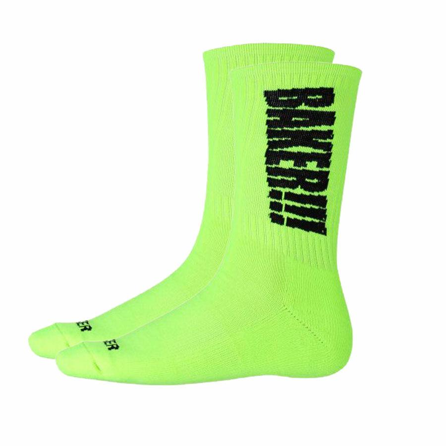133d4d4917 Baker Screamer Crew zokni Neon Green 1 pár