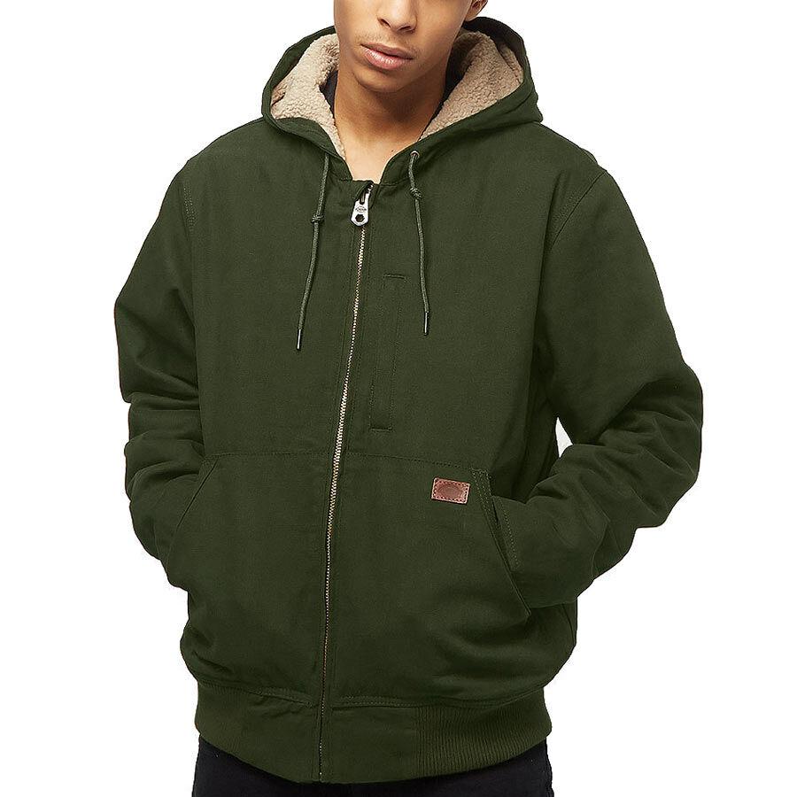 Dickies Farnham kabát Olive Green 82b2da89e3