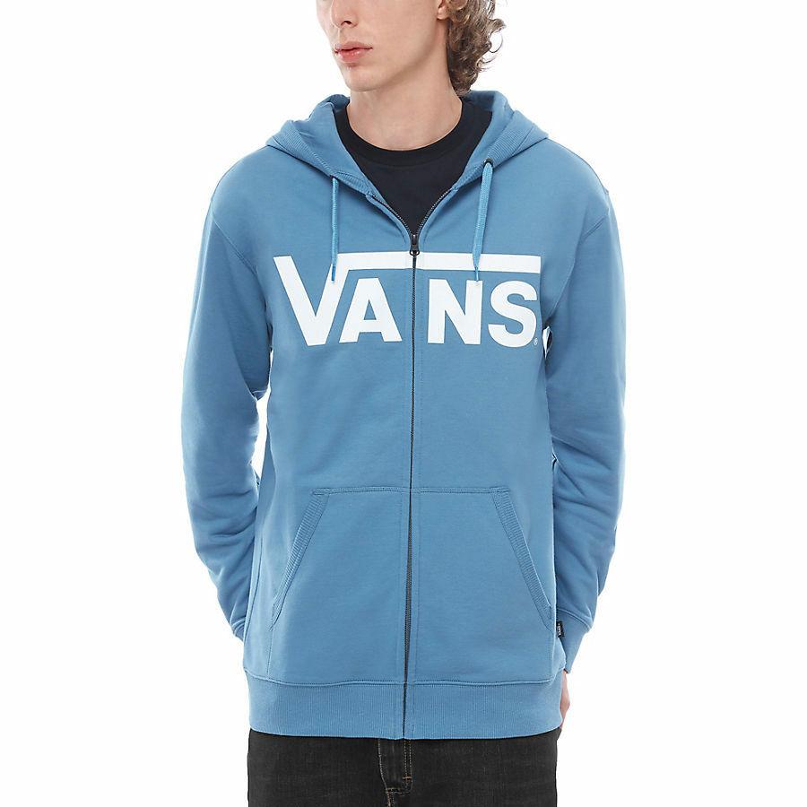 Vans Classic Zip pulóver Copen Blue White 58a4a70096