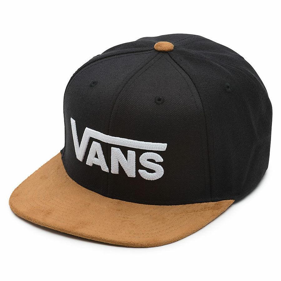 8eda07216267 Vans Drop V sapka Black-Khaki