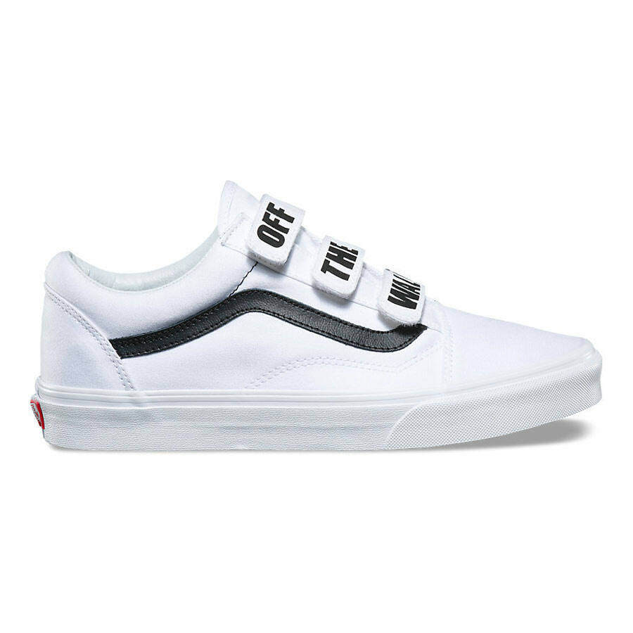 Vans Old Skool V cipő True White 4201dc36ce