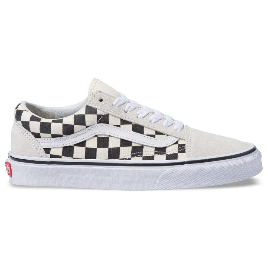 Vans Old Skool cipő Checkerboard White Black