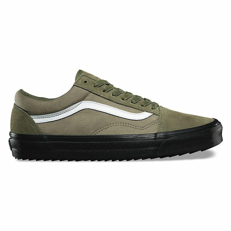 Vans Old Skool Wafflesaw (Surplus Camo) cipő Winter MossBlack