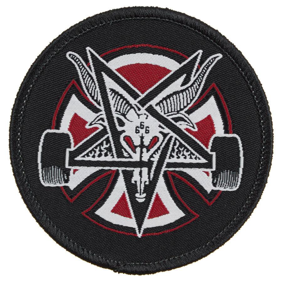 Thrasher X Independent Pentagram Cross felvarró