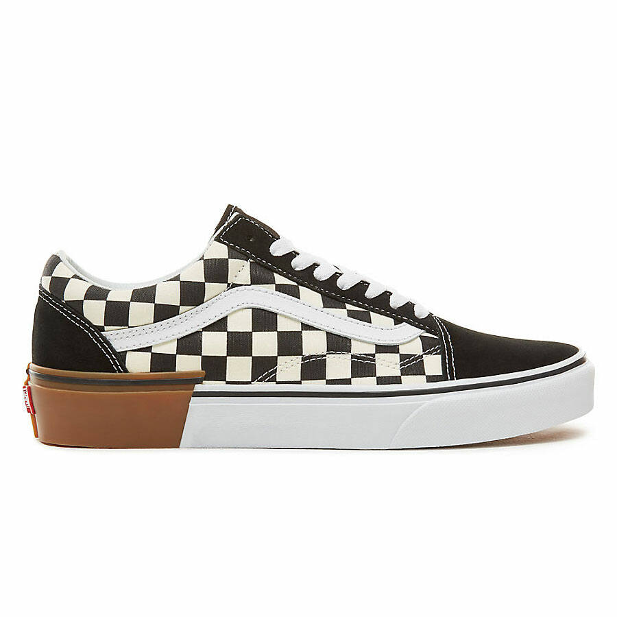 Vans Old Skool cipő Gum Block Checkerboard
