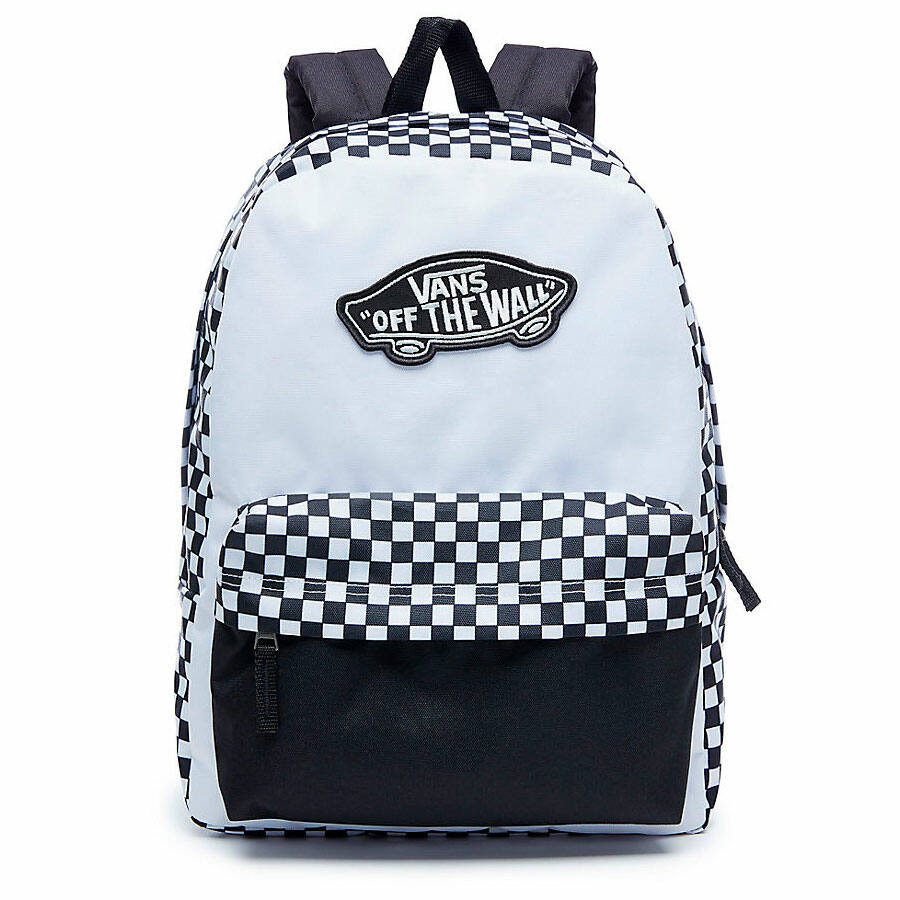 Vans Realm hátizsák Black White Checkerboard