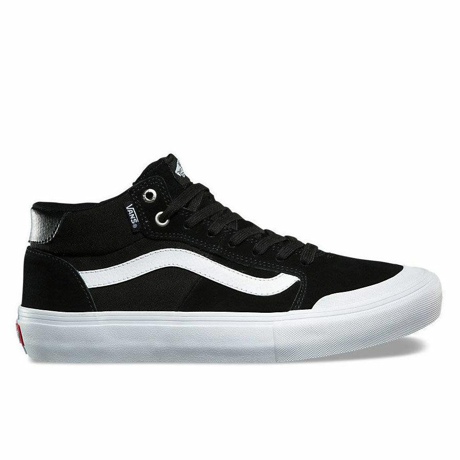 Vans Style 112 Mid Pro cipő Black White