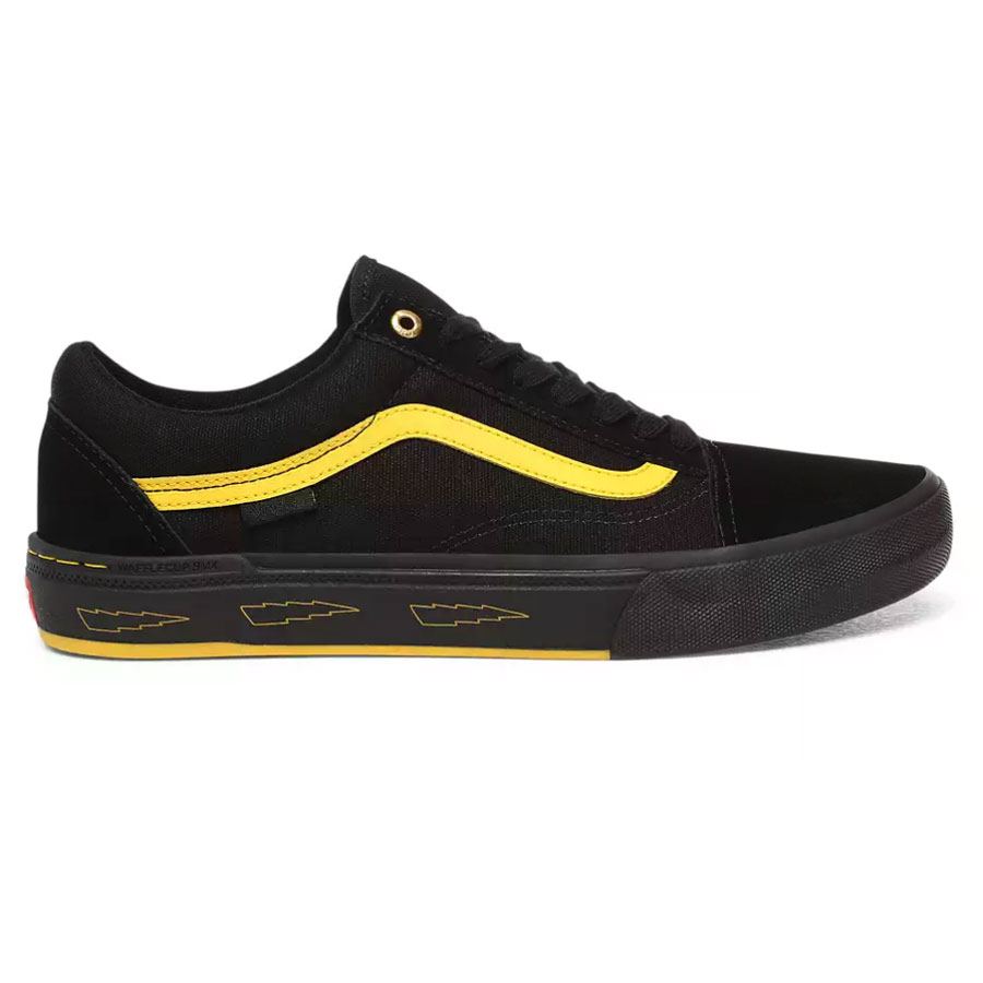 Vans Old Skool Pro BMX Larry Edgar cipő Black Yellow